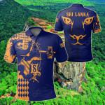 Sri Lanka King Of Lion All Over Print Polo Shirt