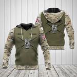 Customize British Army Symbol Camo V3 All Over Print Hoodies