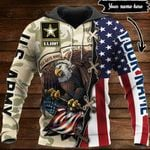 Customize U.S.Army Veteran V2 All Over Print Hoodies