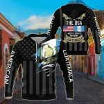 I May Live In The USA But My Story Began In Guatemala - Flag All Over Print Shirts