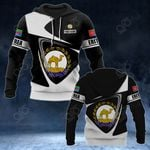 Customize Eritrea Coat Of Arms - Flag V2 All Over Print Hoodies