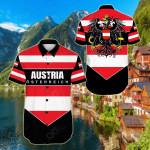 Austria Pro Energy Short Sleeve Linen Button Down Shirt