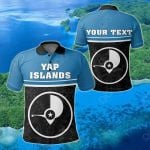 Customize Yap Islands Coat Of Arms - Dat Style All Over Print Polo Shirt