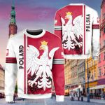 Poland Quarter Style All Over Print Shirts