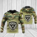 Hellenic Army All Over Print Hoodies