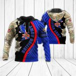 Customize British Army - Map All Over Print Hoodies