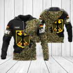 Customize German Army - Coat Of Arms All Over Print Hoodies