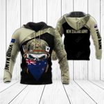 Customize New Zealand Army & Flag All Over Print Hoodies
