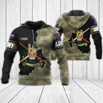 Customize New Zealand Army - Coat Of Arms All Over Print Hoodies