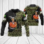 Customize Portuguese Army - Coat Of Arms All Over Print Hoodies