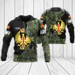 Customize Spanish Army - Coat Of Arms All Over Print Hoodies