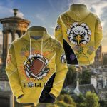 Scotland Rugby Thistle The Eagles All Over Print Shirts