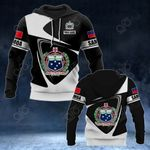 Customize Samoa Coat Of Arms - Flag V2 All Over Print Hoodies