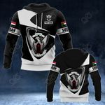 Customize Sudan Coat Of Arms - Flag V2 All Over Print Hoodies