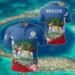 Belize Special All Over Print Polo Shirt
