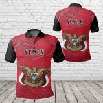 Yemen Special Map All Over Print Polo Shirt