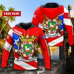 Customize Puerto Rico Coat Of Arms Version All Over Print Shirts
