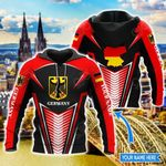 Customize Germany Coat Of Arms & Map Style All Over Print Hoodies