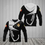 Customize Belgium Coat Of Arms & Flag All Over Print Hoodies