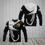 Customize Bulgaria Coat Of Arms & Flag All Over Print Hoodies