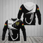 Customize Ghana Coat Of Arms & Flag All Over Print Hoodies