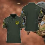 Customize Hellenic Army Symbol Camo All Over Print Polo Shirt