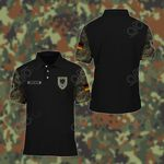 Customize German Army Symbol Camo All Over Print Polo Shirt