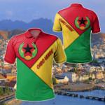 Cabo Verde - Prior National Flag Of Cabo Verde (1975 - 1992) All Over Print Polo Shirt