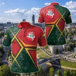 Lithuania Legend All Over Print Polo Shirt