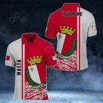 Customize Malta Coat Of Arms - Special Version All Over Print Polo Shirt