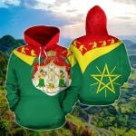 Ethiopia Around The World Version All Over Print Hoodies