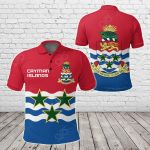 Cayman Islands Coat Of Arms All Over Print Polo Shirt