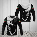 Customize Iran Coat Of Arms & Flag All Over Print Hoodies