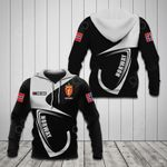 Customize Norway Coat Of Arms & Flag All Over Print Hoodies