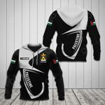 Customize Palestine Coat Of Arms & Flag All Over Print Hoodies