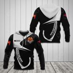 Customize Papua New Guinea Coat Of Arms & Flag All Over Print Hoodies