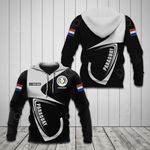 Customize Paraguay Coat Of Arms & Flag All Over Print Hoodies