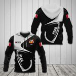Customize Peru Coat Of Arms & Flag All Over Print Hoodies