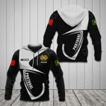 Customize Portugal Coat Of Arms & Flag All Over Print Hoodies