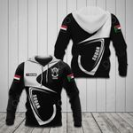 Customize Sudan Coat Of Arms & Flag All Over Print Hoodies