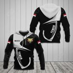 Customize Yemen Coat Of Arms & Flag All Over Print Hoodies