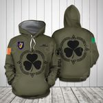 Customize Ireland Coat Of Arms All Over Print Hoodie