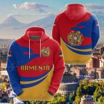 Armenia Proud Version All Over Print Shirts