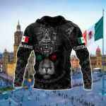 Customize Mexican Lion Warrior All Over Print Shirts
