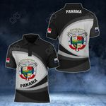 Panama Coat Of Arms Map - New Form All Over Print Polo Shirt