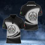Afghanistan Coat Of Arms Map - New Form All Over Print Polo Shirt