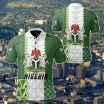 Nigeria Simple Sport Version All Over Print Polo Shirt