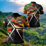 Ethiopia Legend All Over Print Polo Shirt