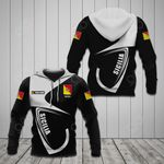 Customize Sicily Coat Of Arms & Flag All Over Print Hoodies
