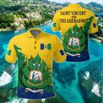 Saint Vincent and the Grenadines 1985 Special All Over Print Polo Shirt